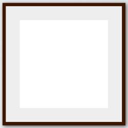 Brown Frame Passepartout